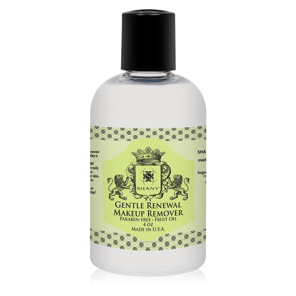 SHANY Gentle Renewal Makeup Remover -  - ITEM# SH-MR-PARENT - Removing makeup at the end of the day is good for your skin, but why not do something great for your skin? The SHANY Gentle Renewal Makeup Remover not only removes all traces of makeup, but also soothes, moisturizes, and repairs your skin. It's like a g