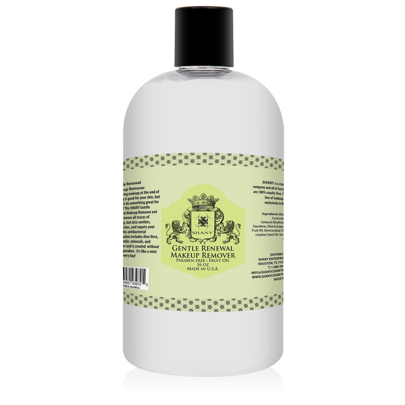 SHANY Gentle Renewal Makeup Remover - 16oz - SHOP 16 OZ - MAKEUP REMOVER - ITEM# SH-MR16