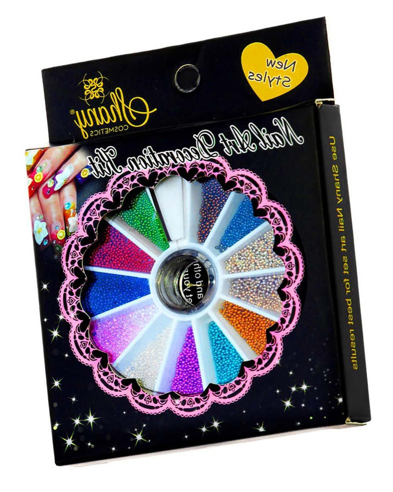 SHANY 3D DIY Large Nail Decoration Wheel - SET4 - ITEM# SH-NAILART-SET04 - Nail decoration art artificial dotting pen glitter,Style design manicure shape tips professional coat,Amope opi sticker pattern color paint polish clean,Electric luxury file spa fashion salon massager,Scissors brush smooth women cream clipper gel kits - UPC# 030955521596