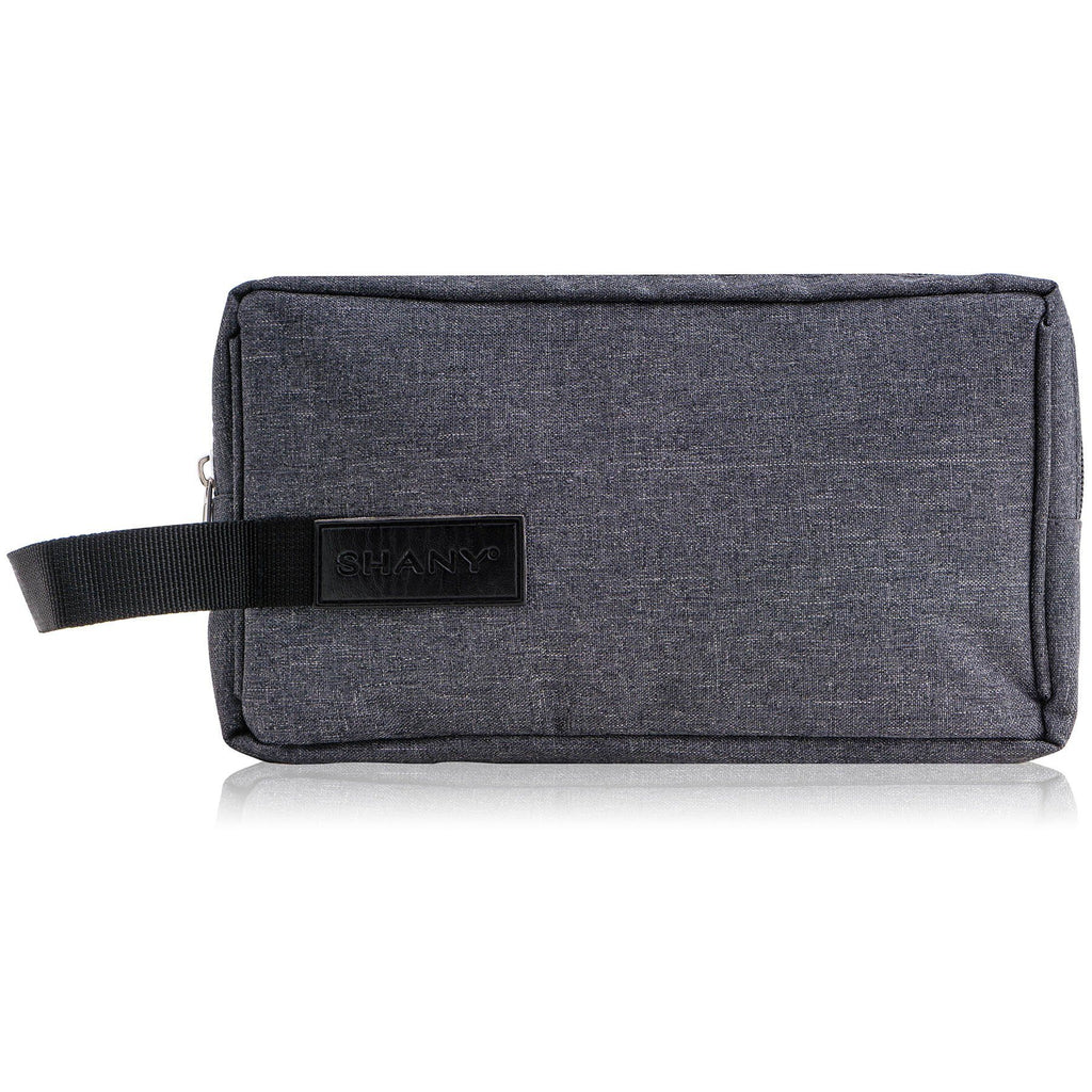 Travel Toiletry and Makeup Bag – GRAY - SHANY