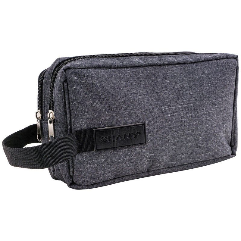 SHANY Travel Toiletry and Makeup Bag - GRAY -  - ITEM# SH-NT1002-GY - Best seller in cosmetics TRAVEL BAGS category