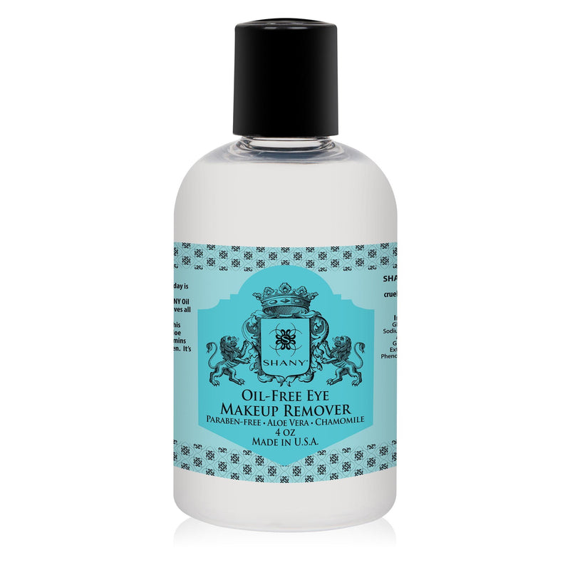 SHANY Indelible Oil-Free Eye Makeup Remover lotion - 4oz - SHOP 4 OZ - MAKEUP REMOVER - ITEM# SH-OMR04