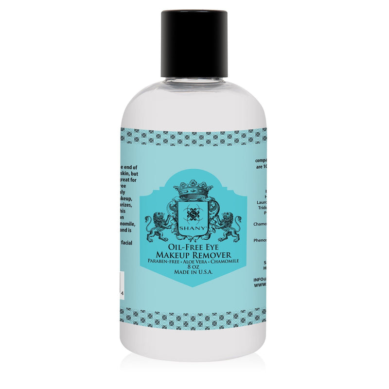 SHANY Indelible Oil-Free Eye Makeup Remover lotion - 8oz - SHOP 8 OZ - MAKEUP REMOVER - ITEM# SH-OMR08