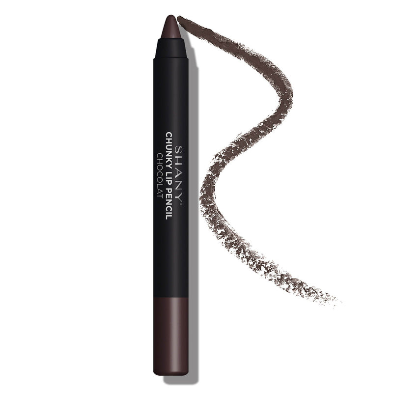 SHANY Chunky Lipstick Lip Pencil With Vitamin E & Aloe Vera - CHOCOLAT - SHOP CHOCOLAT - LIP LINERS - ITEM# SH-P003-22