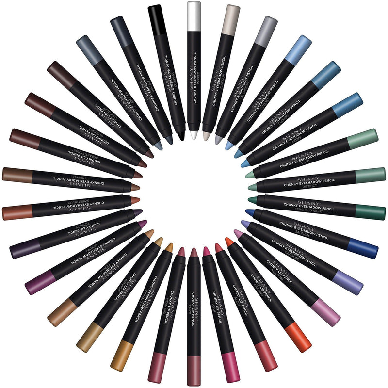 SHANY Multi-Use Chunky Pencils- EyeShadow/Eyeliner
