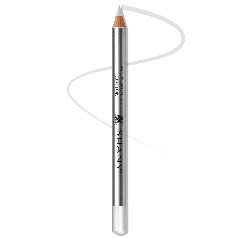 SHANY Slim Liner Eye Pencil  - COTTON - SHOP COTTON - EYELINER - ITEM# SH-P008-01
