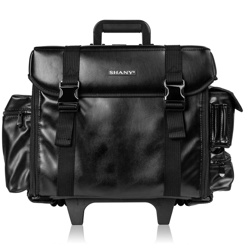 f81eecbea6df Makeup Artist Soft Rolling Trolley Cosmetic Case with Free Set of Mesh Bag