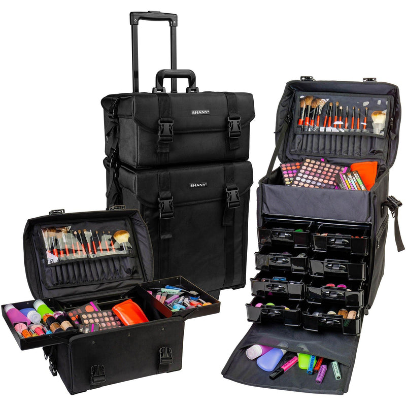 SHANY Soft Trolley Case - Jet Black