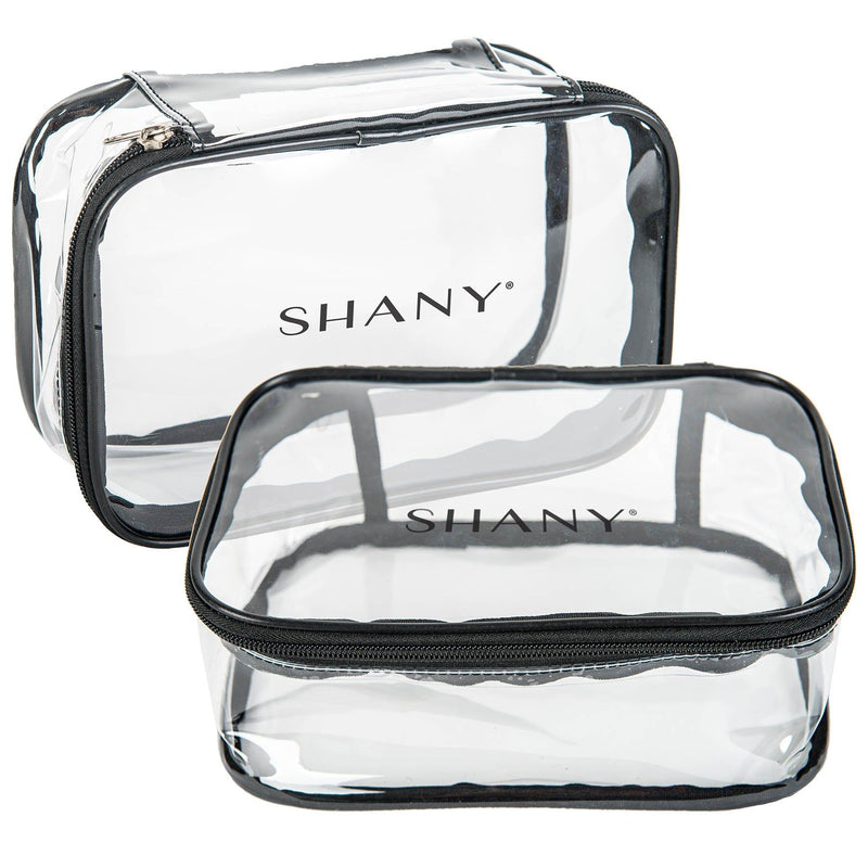 SHANY Slumber Party Cosmetics Clear Travel Bag - Waterproof Multi-use Makeup , Nail and Travel Storage - 1 Count - SHOP  - TRAVEL BAGS - ITEM# SH-PC07