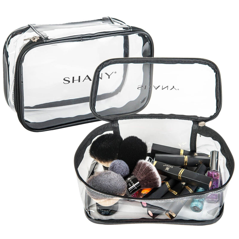 SHANY Slumber Party  Clear Travel Bag - Waterproof Multi-use  Storage - 1 Count -  - ITEM# SH-PC07 - From the creators of the 30 Color Chunky Eyeshadow Pencil Set, SHANY now brings you their new line of perfect travel-ready and storage bags.  The SHANY Slumber Party Travel Bag is perfect for men and women of all ages.