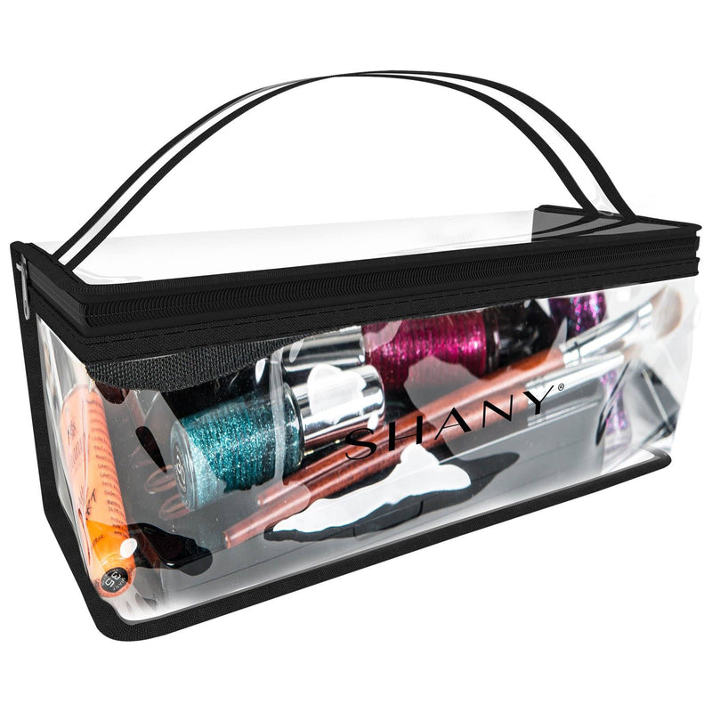 SHANY Road Trip Travel Bag - Water Proof Storage for at Home or Travel Use -  - ITEM# SH-PC09 - From the creators of the Talc Free and Paraben free Matte Lipsticks, SHANY now brings you their new line of perfect travel-ready and storage bags.  The SHANY Slumber Party Travel Bag is perfect for men and women of all ages