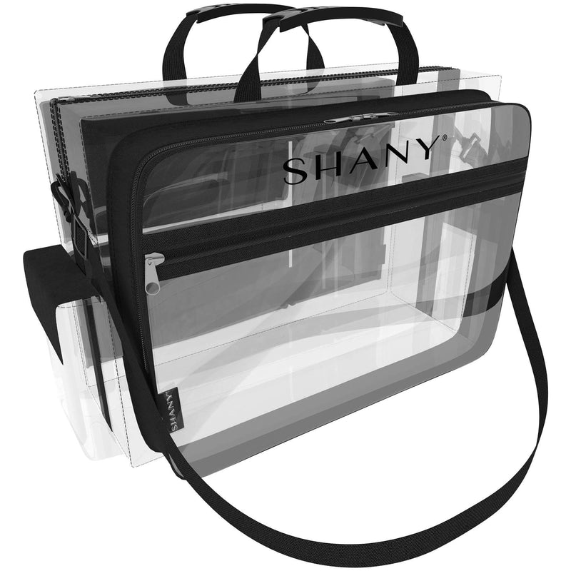 SHANY Clear Traveling Makeup Artist Bag