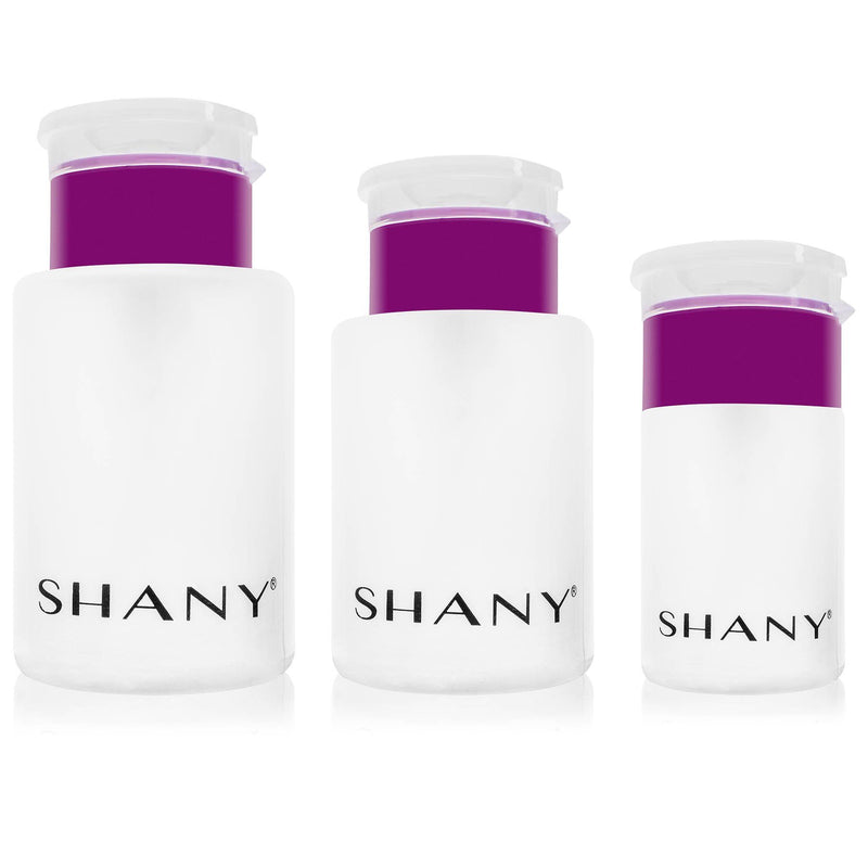 Push-Top Liquid Dispenser Set - SHANY