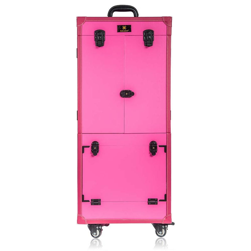 SHANY Rebel Pro Professional Makeup Case - Pink