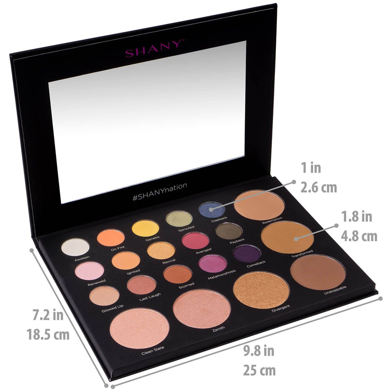 SHANY Revival Palette - 21 Eye & Cheek Colors - ORIGINAL - ITEM# SH-REVIVAL-A - Best seller in cosmetics MAKEUP SETS category