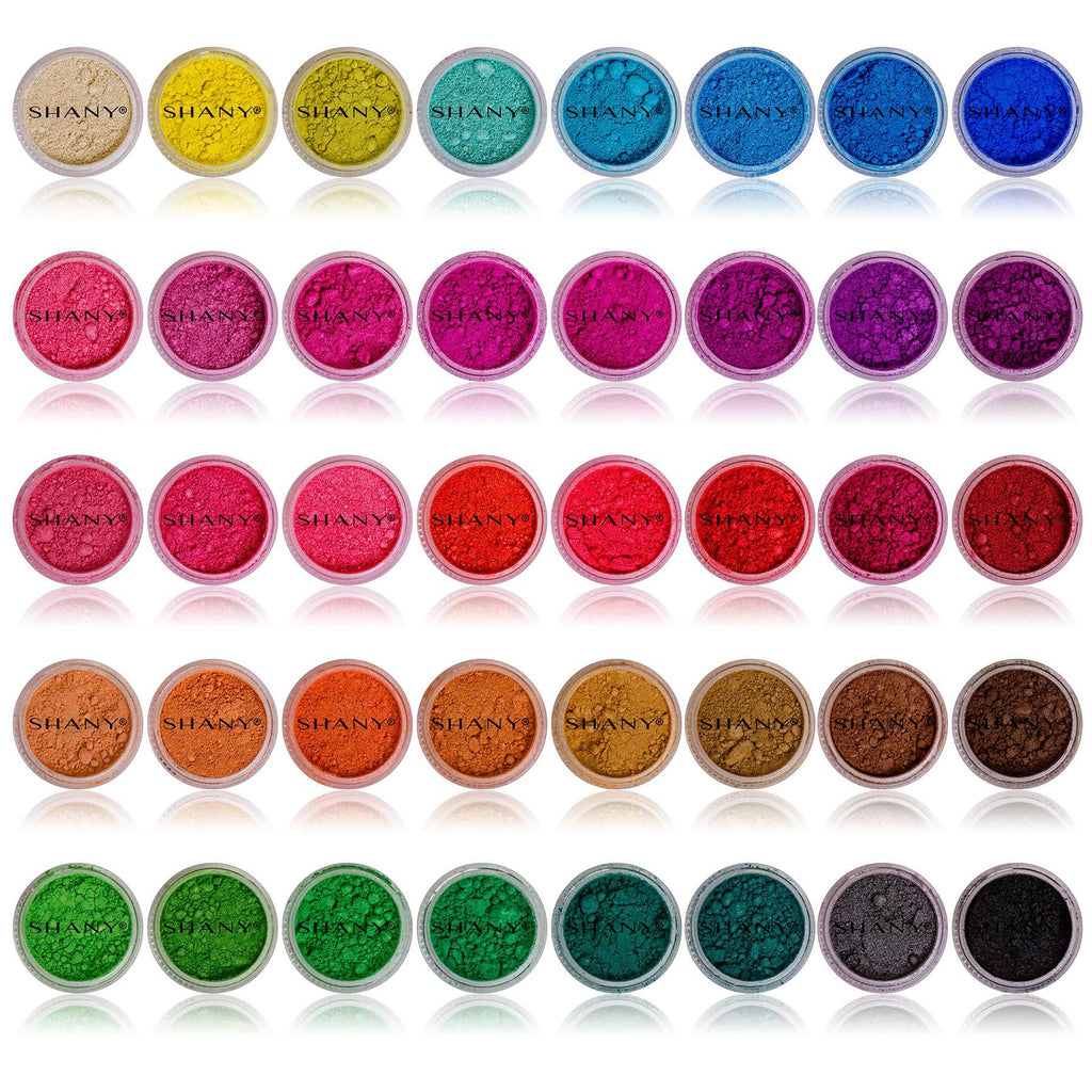 SHANY Eye Sparkle/Eye shadow Loose Powder - Set of 40 Colors - SHOP  - EYE SHADOW SETS - ITEM# SH-SHANY40M
