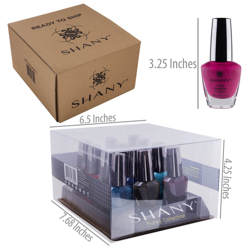 SHANY Nail Polish Set - The Funky Collection