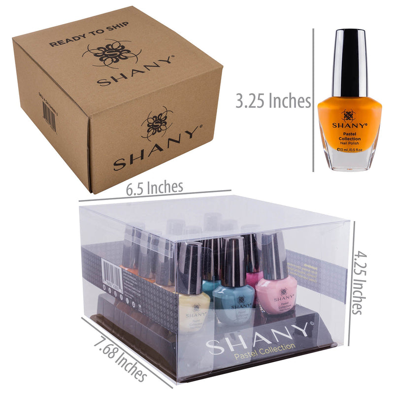 SHANY Nail Polish Set - The Pastel Collection