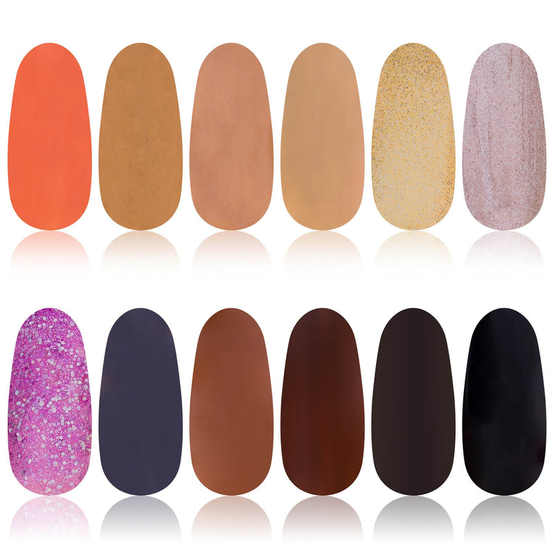 SHANY Nail Polish Set - The Earth Collection - EARTH - ITEM# SH-SHNN-6 - Wholesale nail care polish sets woman waterproof,Opi Nailpolish Long lasting quick dry best lacquer,Essie Varnish Manicure Pedicure kits tools girls,Glittering glossy shimmer favorite cheap expensive,accessory fingernail paints work wedding party top - UPC# 616450438036