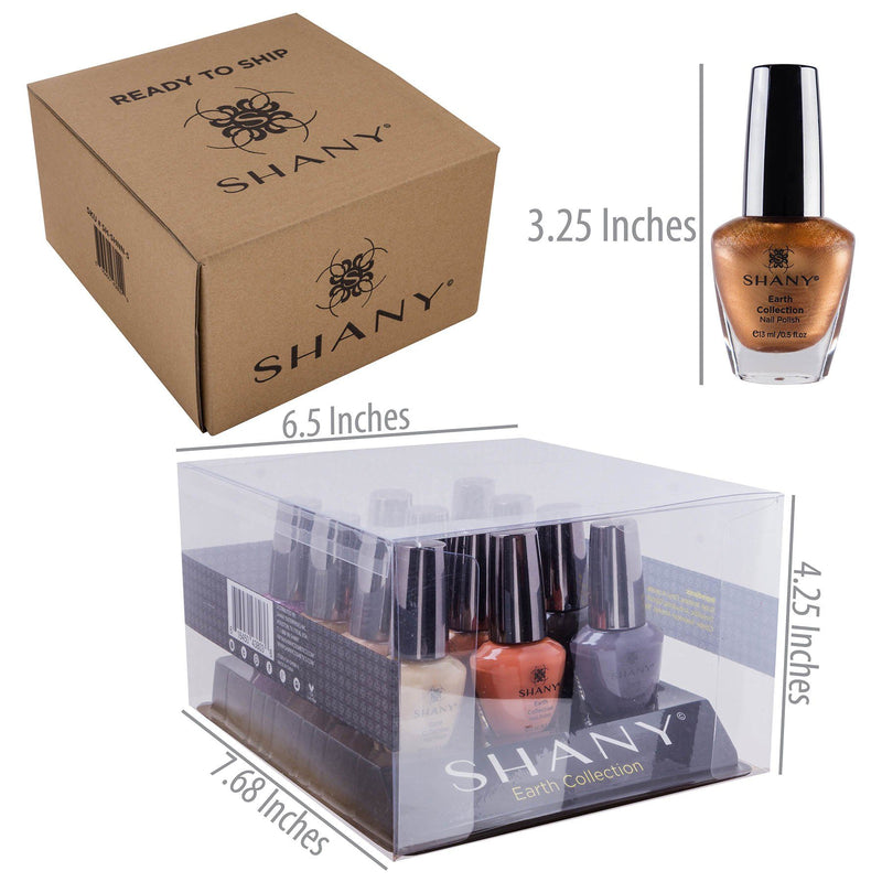 SHANY Nail Polish Set - The Earth Collection