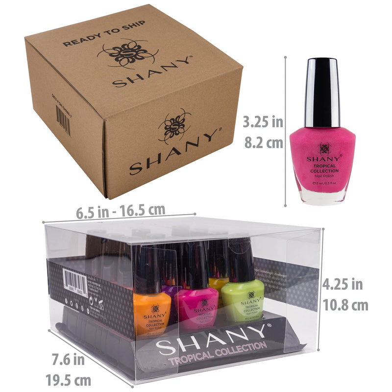 SHANY Tropical Collection Nail Polish Set