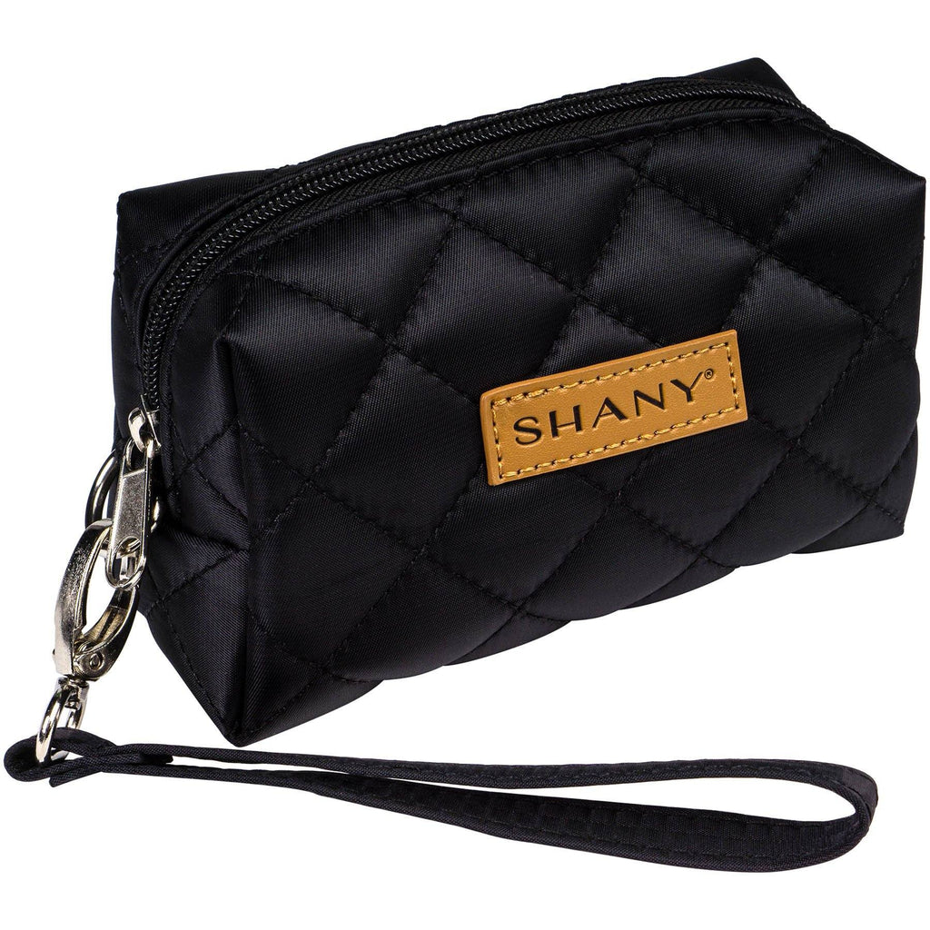 SHANY Limited Edition Mini Tote Bag and Travel Makeup Bag, Black - SHOP BLACK - TOTE BAGS - ITEM# SH-TOTEBAG-BK