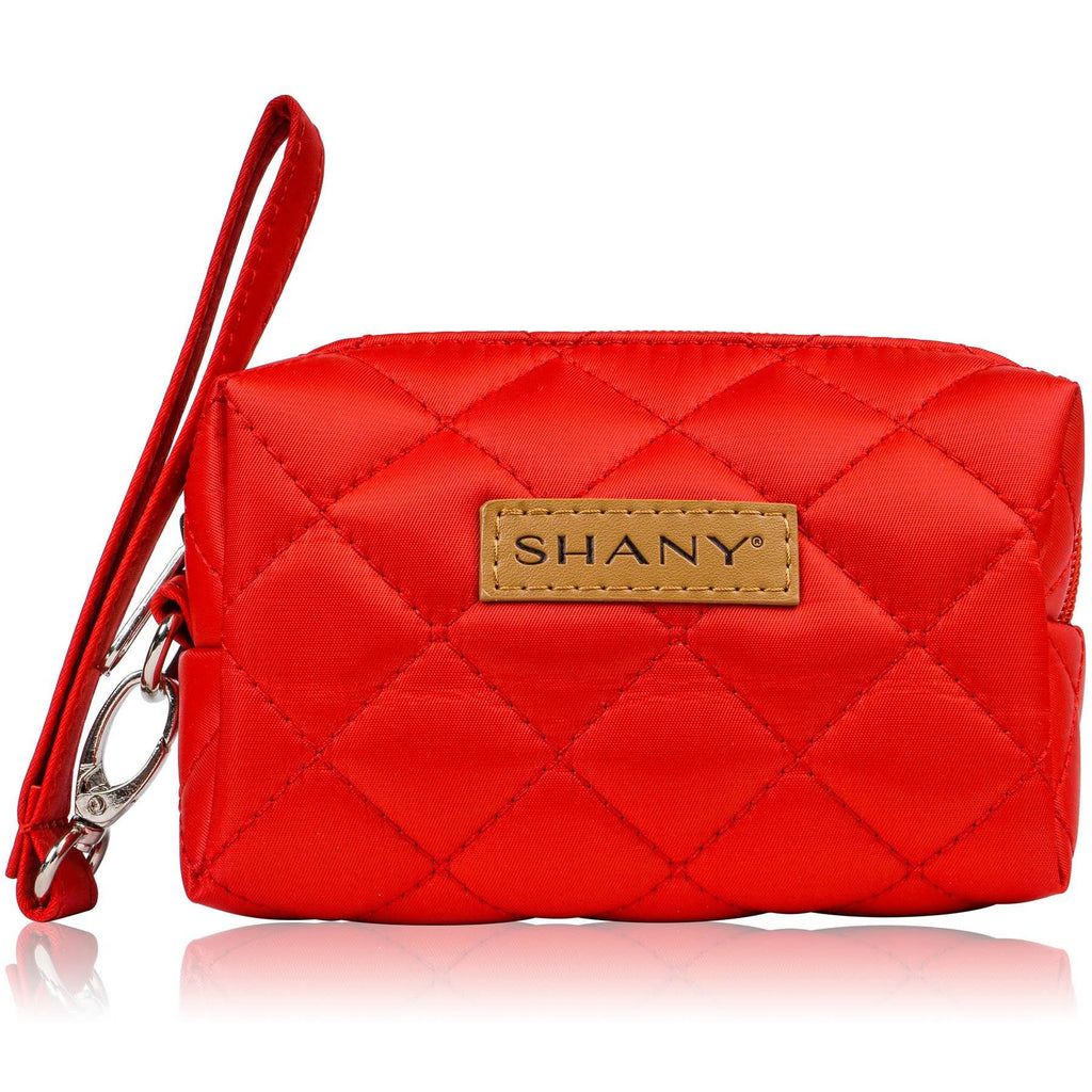 SHANY Mini Tote Bag - RED - ITEM# SH-TOTEBAG-PARENT - Makeup train cases bag organizer storage women kit,Professional large mini travel rolling toiletry,Joligrace ollieroo seya soho cosmetics holder box,Salon brush artist high quality water resistant,Portable carry trolley lipstic luggage lock key - UPC# 0616450444273