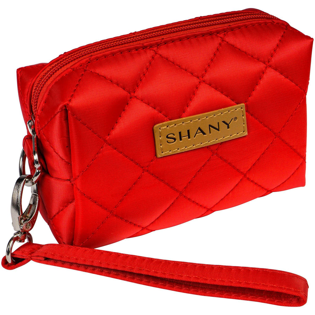 SHANY Limited Edition Mini Tote Bag and Travel Makeup Bag - SHOP RED - MAKEUP TRAIN CASES - ITEM# SH-TOTEBAG-PARENT