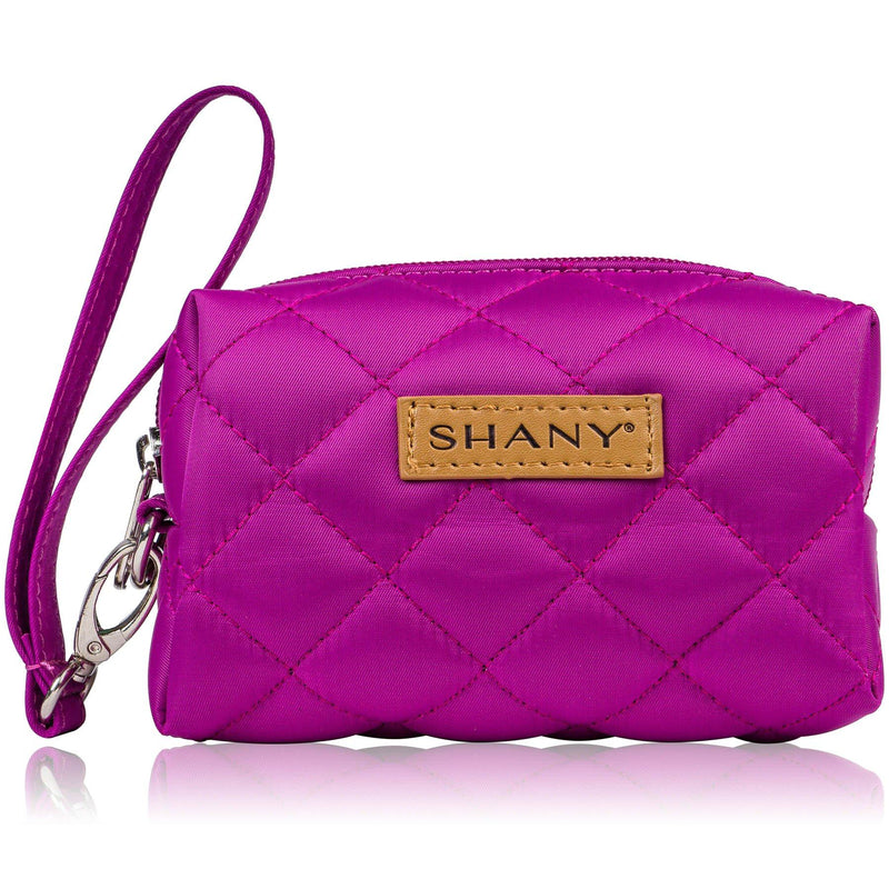 SHANY Limited Edition Mini Tote Bag - VIOLET - PURPLE - ITEM# SH-TOTEBAG-PR - Tote bags women fashion teacher kid zipper pocket,Stylish wedding supplies mini travel makeup work,Michael kors kate spade aldo vera bradley trendy,Plain handbag zippered organizer shoulder purse,Professional messenger cheap plastic luxury big - UPC# 723175177093