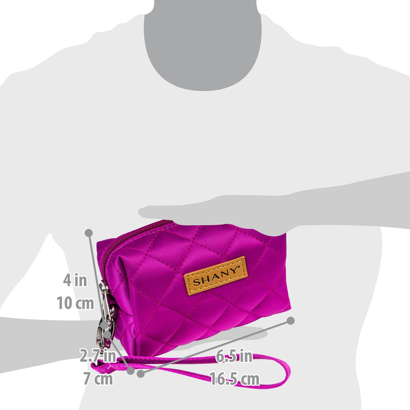 SHANY Limited Edition Mini Tote Bag - VIOLET - PURPLE - ITEM# SH-TOTEBAG-PR - Best seller in cosmetics TOTE BAGS category