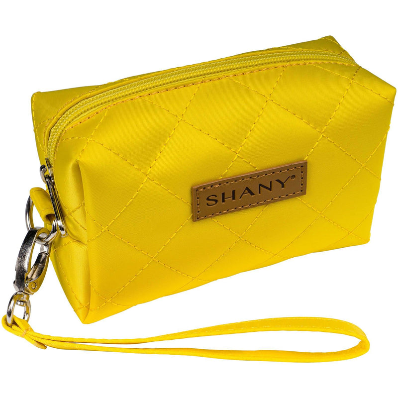 SHANY Limited Edition Mini Tote Bag and Travel Makeup Bag, Blonde - SHOP YELLOW - TOTE BAGS - ITEM# SH-TOTEBAG-YL
