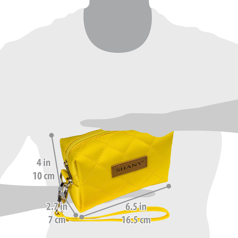 SHANY Limited Edition Mini Tote Bag - BLONDE - YELLOW - ITEM# SH-TOTEBAG-YL - Best seller in cosmetics TOTE BAGS category