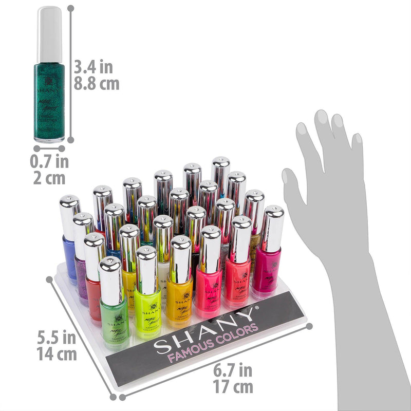 SHANY Nail Art Set-24 Famous Colors Nail Polish -  - ITEM# SH0024NP-01 - Best seller in cosmetics NAIL POLISH category
