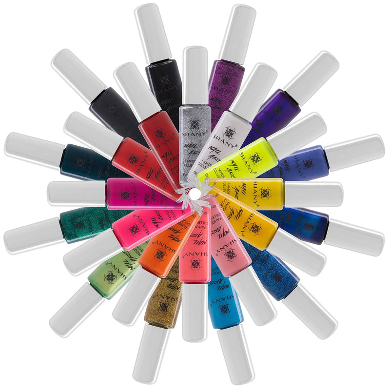 SHANY Nail Art Set-24 Famous Colors Nail Polish