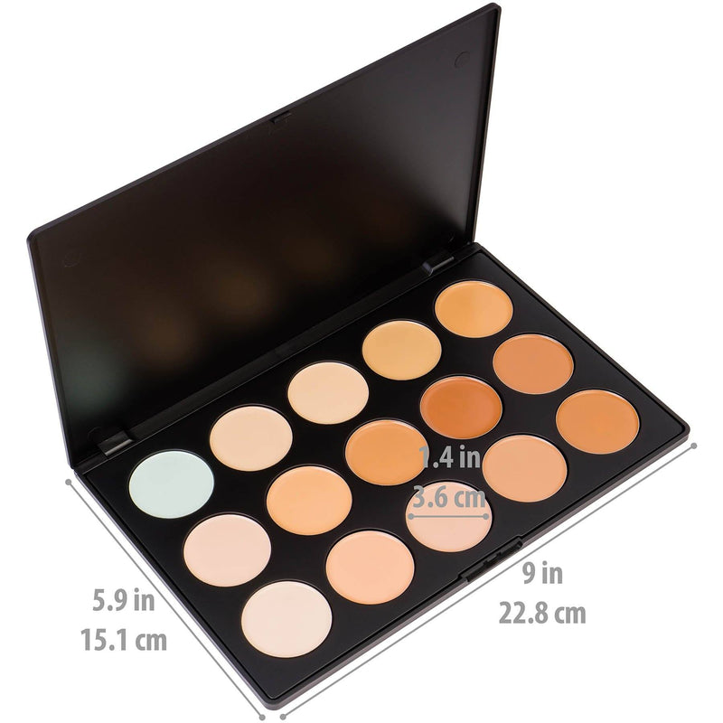 MUA Cream Concealer, Foundation, and Contour Set -  - ITEM# SHANY0015 - Best seller in cosmetics FOUNDATION category