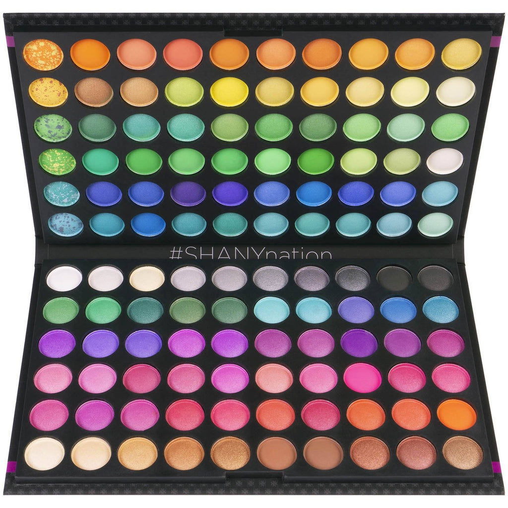 SHANY 120 Colors Eye shadow Palette, Bold and Bright Collection, Vivid Colors - SHOP  - EYE SHADOW SETS - ITEM# SHANY120