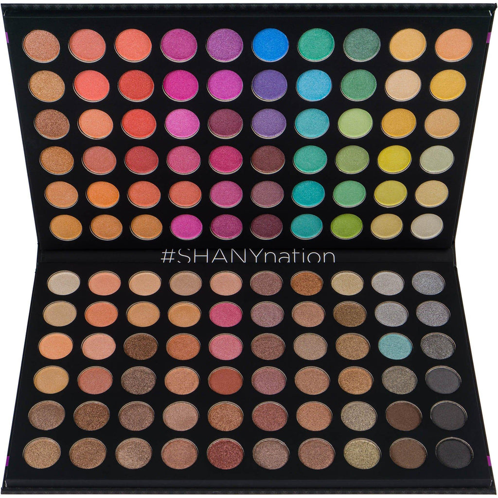 SHANY Ultimate Fusion - 120 Color Eye shadow Palette Natural Nude and Neon Combination - SHOP  - EYE SHADOW SETS - ITEM# SHANY120S