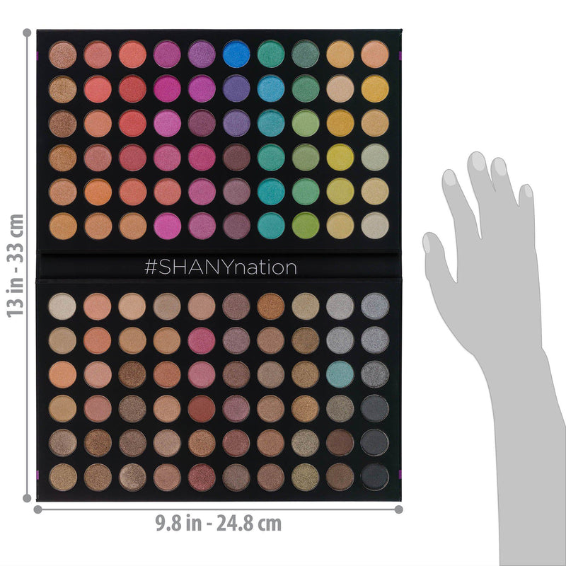 SHANY Ultimate Fusion - 120 Color Eye Shadow Palet -  - ITEM# SHANY120S - Best seller in cosmetics EYE SHADOW SETS category