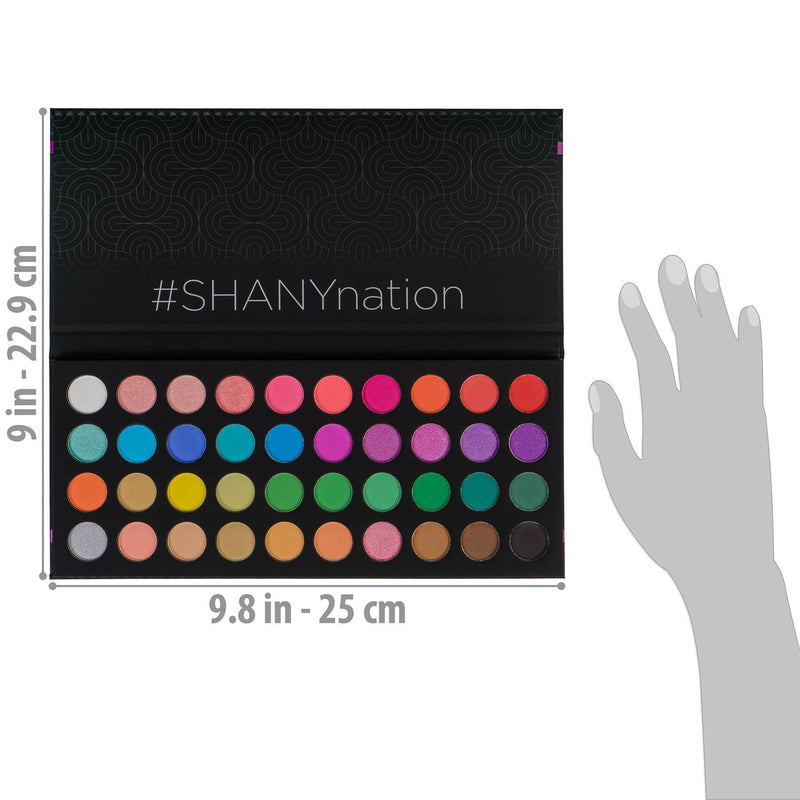 SHANY Boutique 40 color palette -  - ITEM# SHANY40 - Best seller in cosmetics EYE SHADOW SETS category
