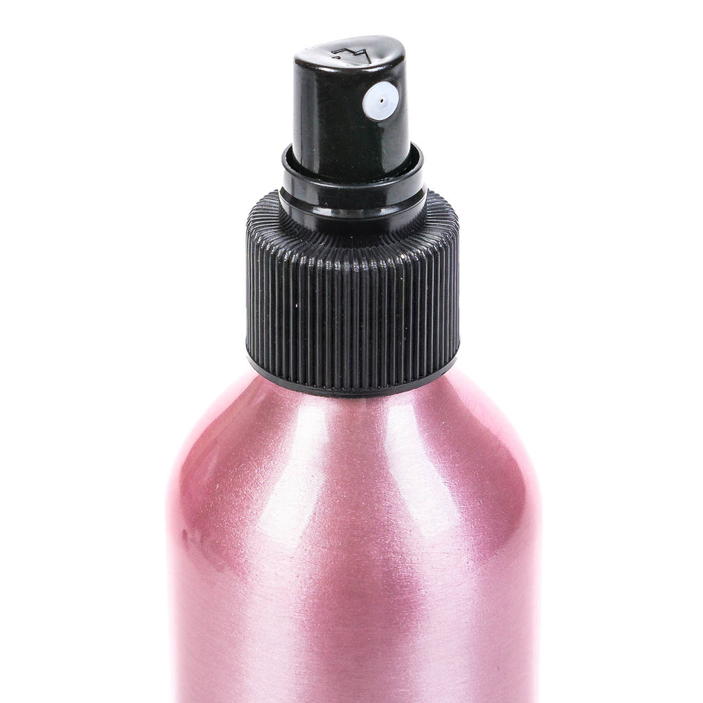 SHANY Stylist's Choice Pink Aluminum Bottle -  - ITEM# SHG-ALSP-PARENT - Refillable cosmetic containers empty clear spray,Travel size bottle hair beauty leak proof perfume,Empty clear spray refillable travel size bottles,Lotion cream squeezable conditioner portable set,Liquid mini softsoap makeup oil small smart jar - UPC# 616450444235