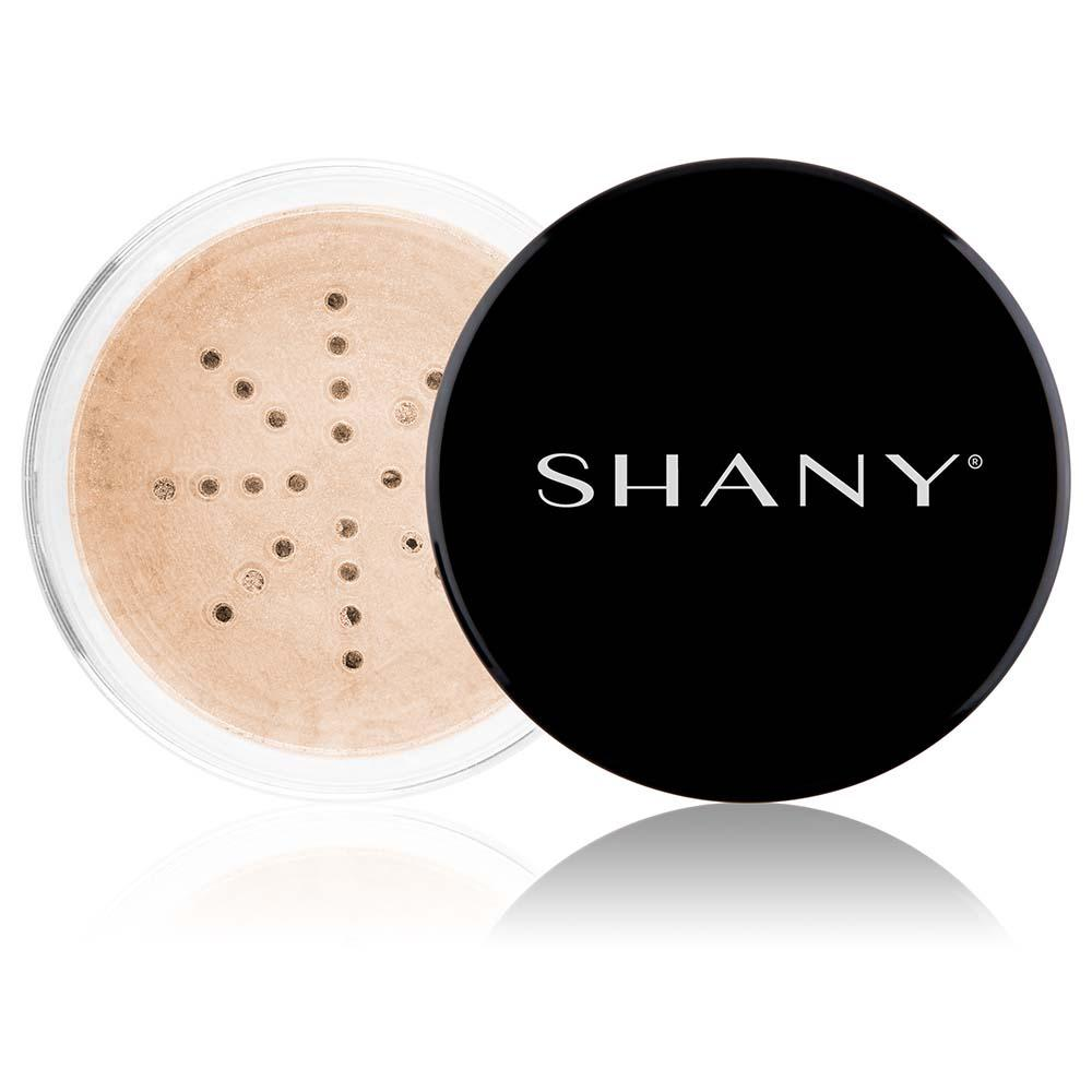 SHANY Mineral Shimmer Powder - Paraben Free/Talc Free - BRONZE - ITEM# SHPM-PARENT - The beautifully radiant glow from the SHANY Mineral Shimmer Powder will make you the envy of everyone around you. This gentle powder makes a great highlight for your most definitive features (cheekbones, brow bones, and nose)You could