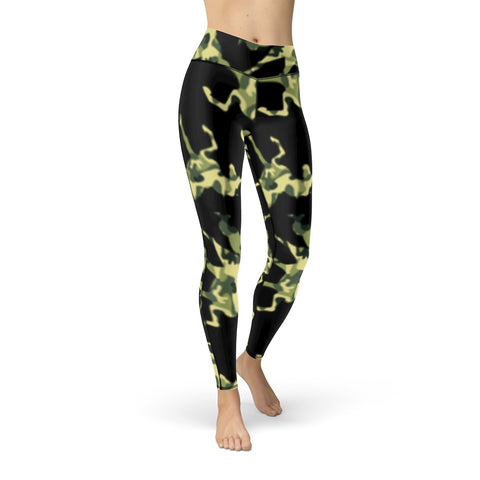 Battle Sport Camo Unicorn leggings