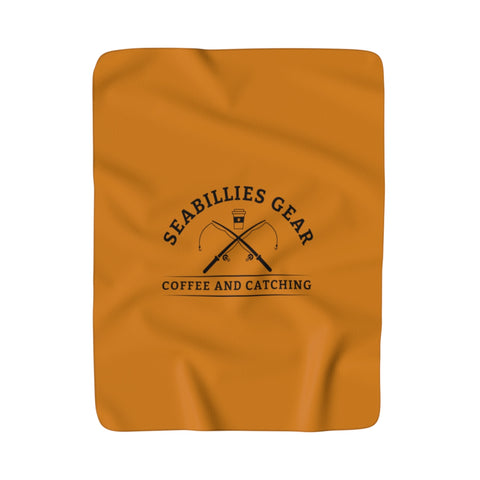Seabillies Fall Sherpa Blanket