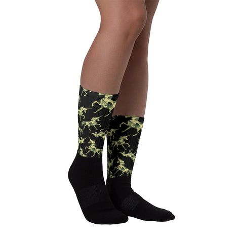 Unicorn camo socks