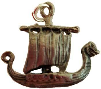 Viking Ship Amulet