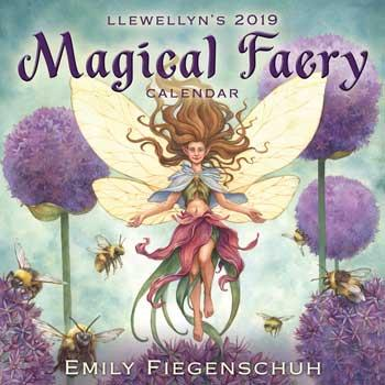 2019 Magical Faery Calendar By Llewellyn