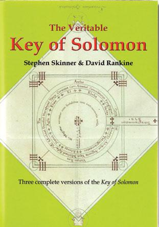 Veritable Key Of Solomon (hc) By Steve Skinner