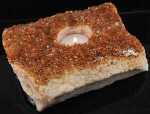 Citrine Tealight Candle Holder