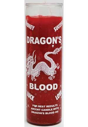 Dragon's Blood 7 Day Jar Candle