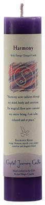 Harmony Reiki Charged Pillar Candle